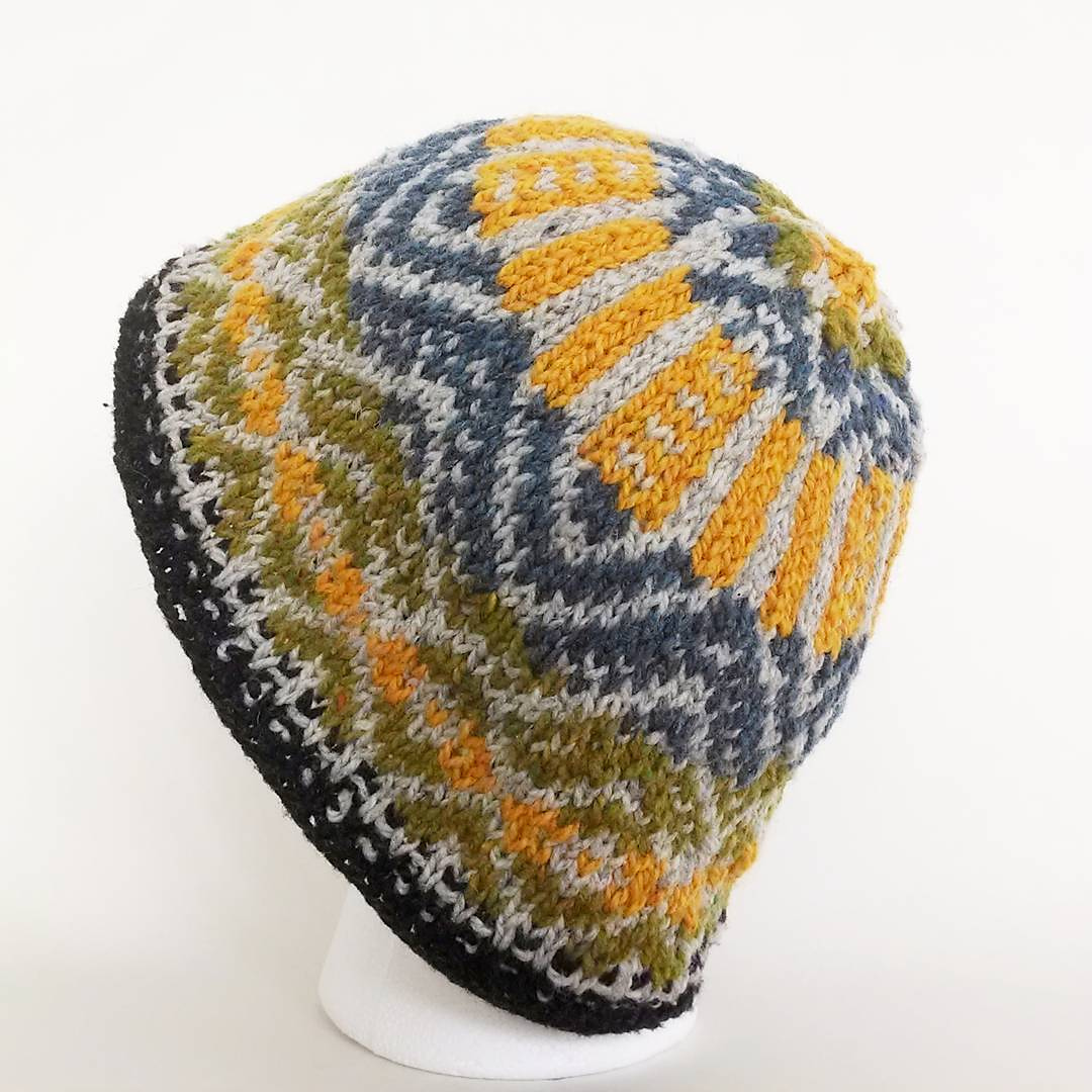 Firth knit hat designed by Bob Holt